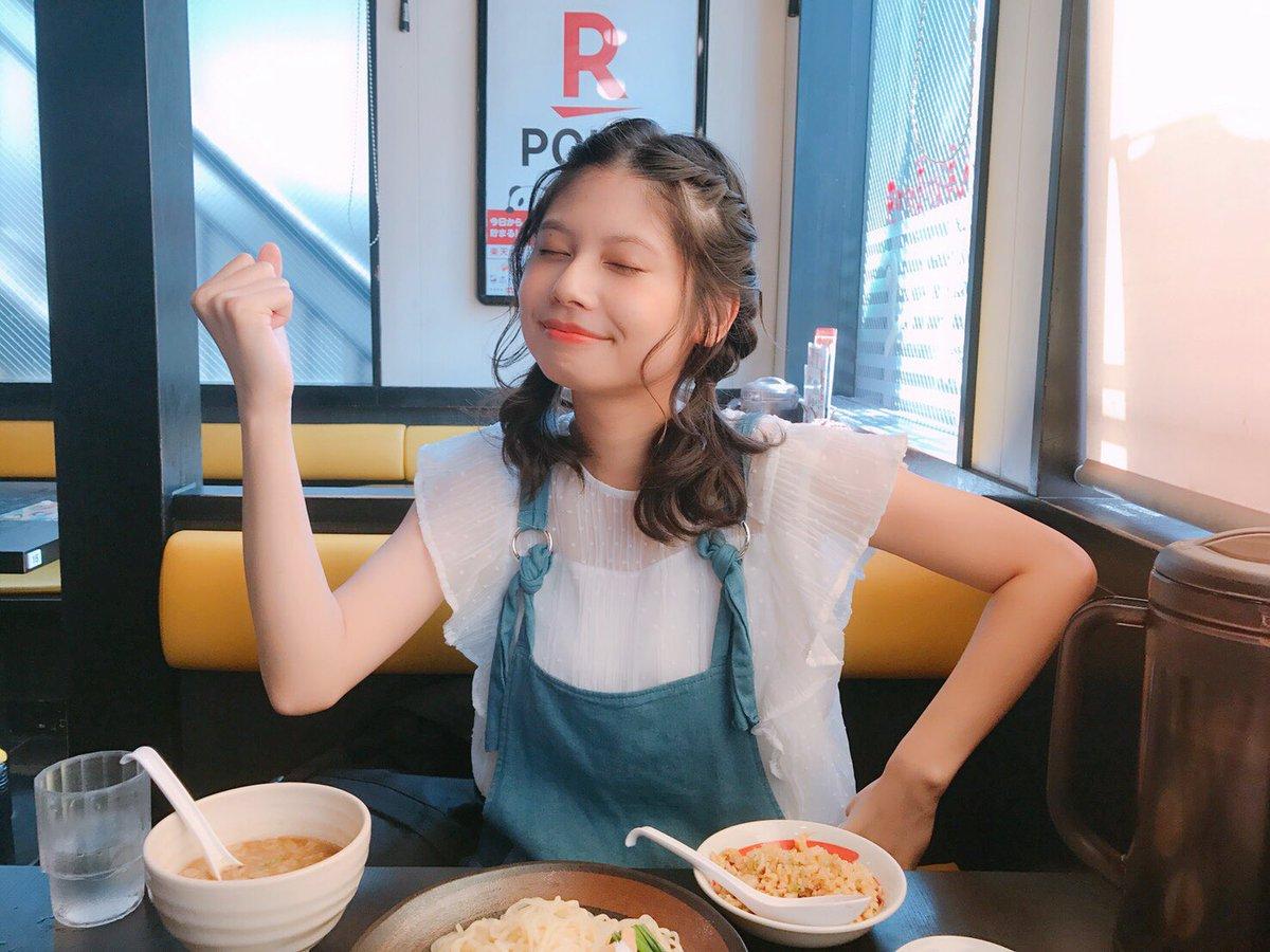 どうしてもつけ麺が食べたくて、ねもちゃんと幸楽苑キメた!朝だから全然大丈夫〜〜!