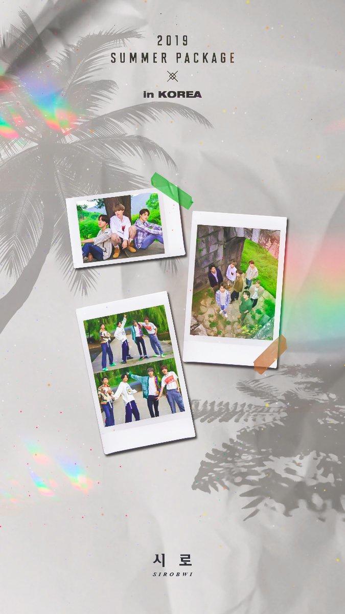 시로 On Twitter 2019 Bts Summer Package In Korea Photocard