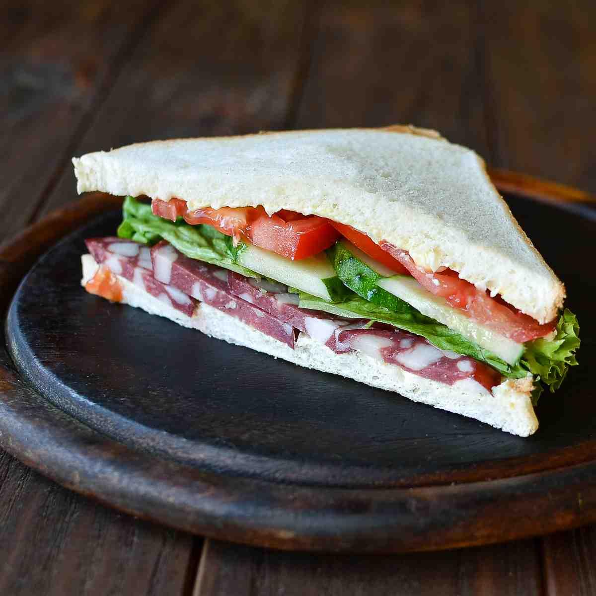 луков, красивые сэндвичи фото который