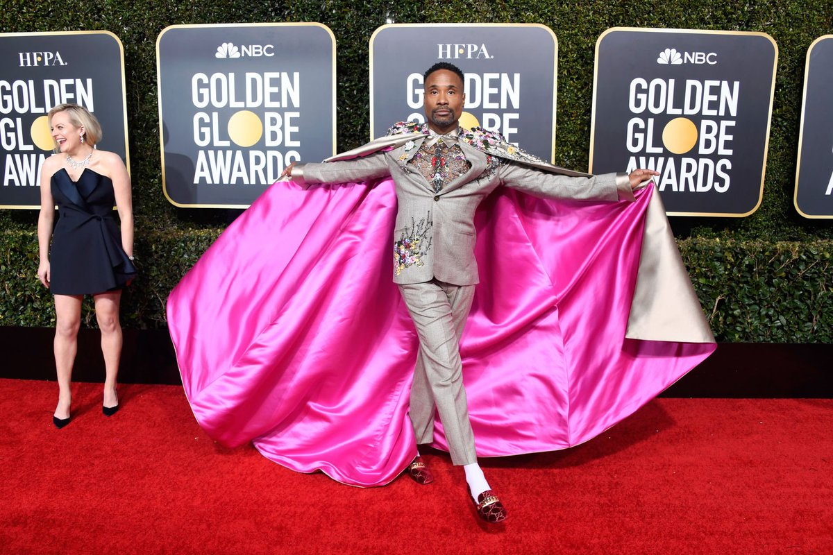 """You'll never be too much for the right people."" Let Billy Porter (@theebillyporter) serve as a living example of what it means to walk in your truth and to live the words of the late-great Luther Vandross: Never too much. trib.al/r7tFryU"