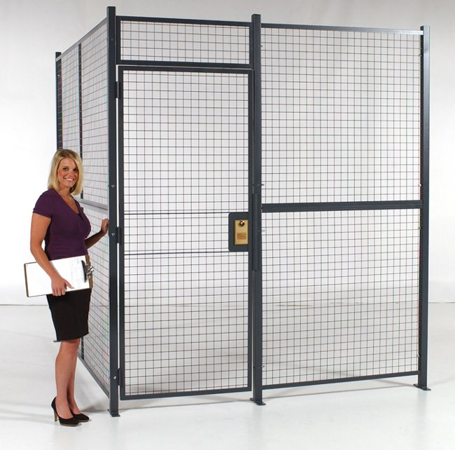 Want to Protect Your Stuff? Think Wire Partitions, Call Us for More - bit.ly/UYZ0vT #warehousing