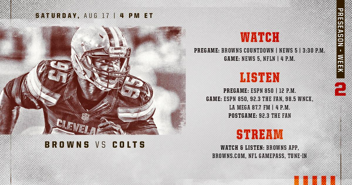 Weve got you covered. 😎 How to watch and listen to tonights game » brow.nz/dtKfYa #CLEvsIND