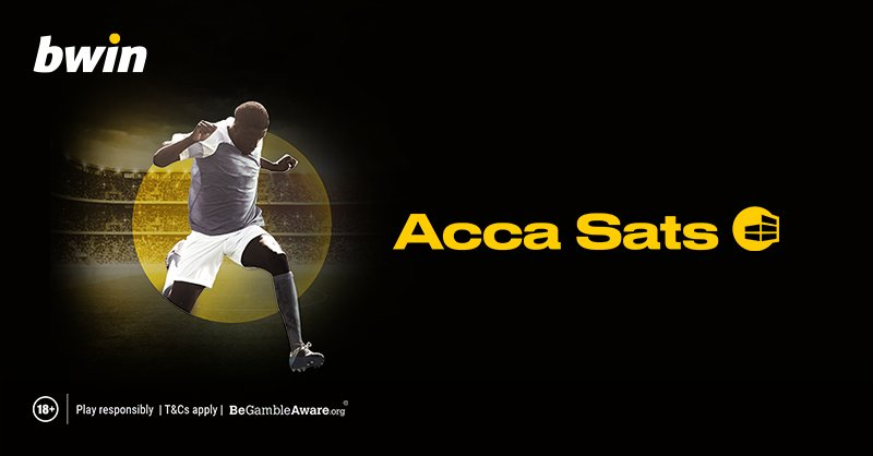 Competition!⚽️ ➡️Opt in and take part in Acca Sats promo (ow.ly/4C4c50vA2xI) ➡️Reply with a screenshot of your completed bet slip showing your selections include hash tag #bwinAccaSats ➡️Enter into a draw for a £50 FreeBet T&Cs apply: ow.ly/Axs550vA2BK