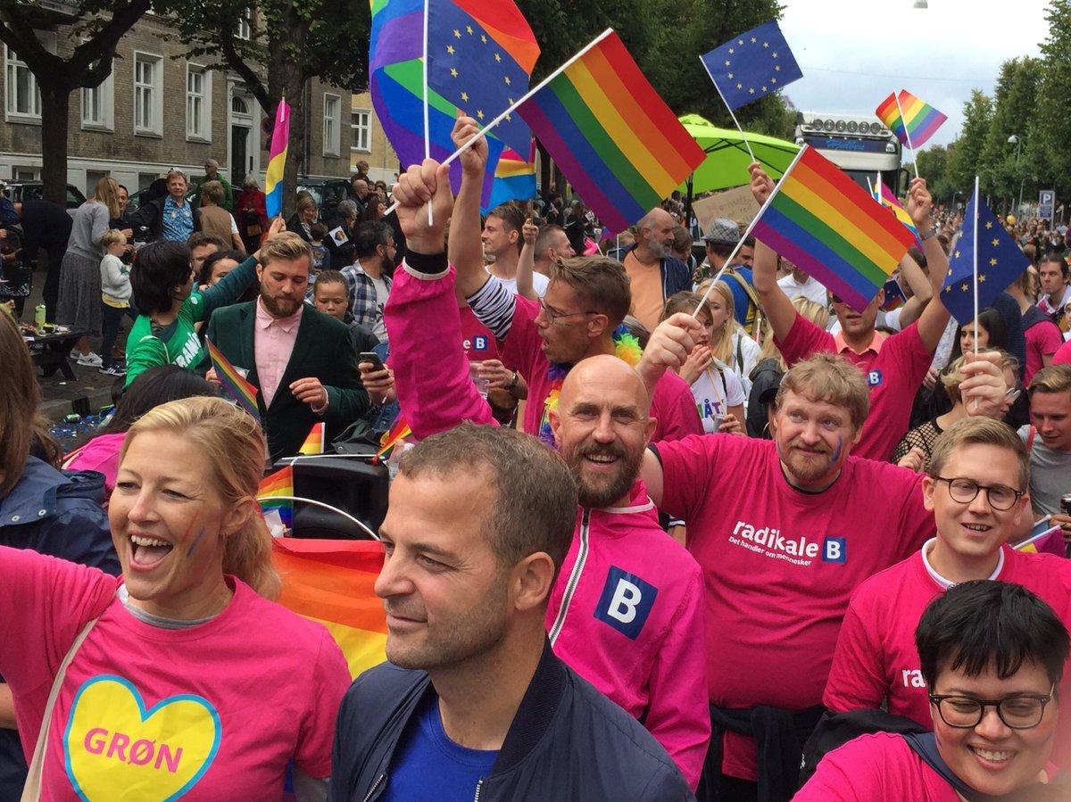 Thank you @CopenhagenPride for a wonderful #Pride2019 So much love celebrating diversity #UnitedInDiversity