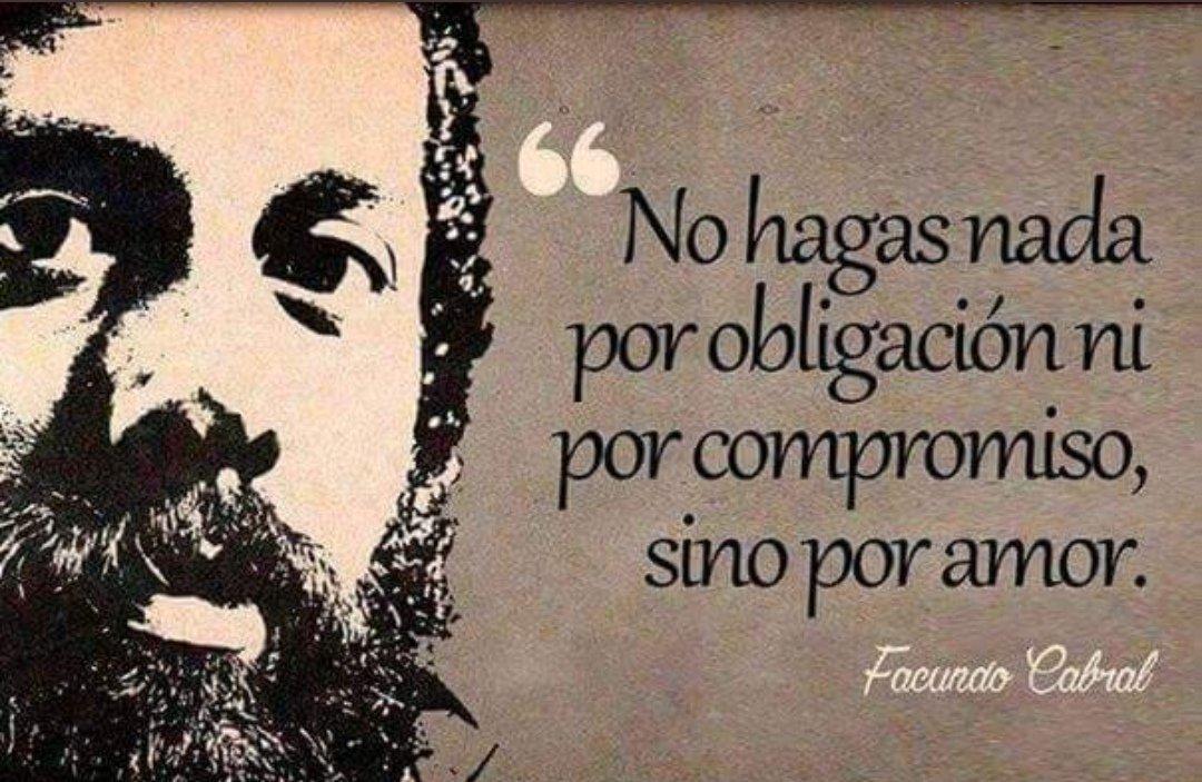 Geovanny Cañar On Twitter Una Frase Más De Facundo Cabral
