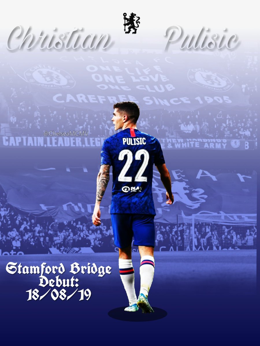 Christian Pulisic makes his Stamford Bridge debut against Leicester City this Sunday. 👊💙 #CP22 #UTC #cfc #CHELEI