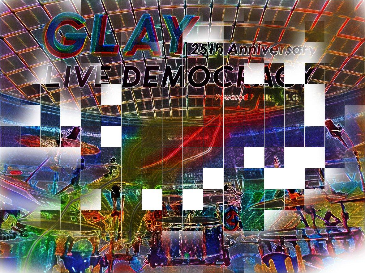 "GLAY 25th Anniversary ""LIVE DEMOCRACY""メットライフドーム1日目 最高に暑くて熱かった~✴️🎵 皆様有り難うございます!感謝です!!!!"