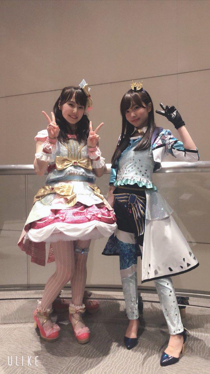 「BEST FRIENDS!スペシャルLIVE~Thanks⇄OK~」ありがとうございました😊これからも湊みおちゃんと一緒に頑張ります!幸せな時間を皆さんと共有できて嬉しかったです!#アイカツオンパレード #aikatsu #aikatsufriends