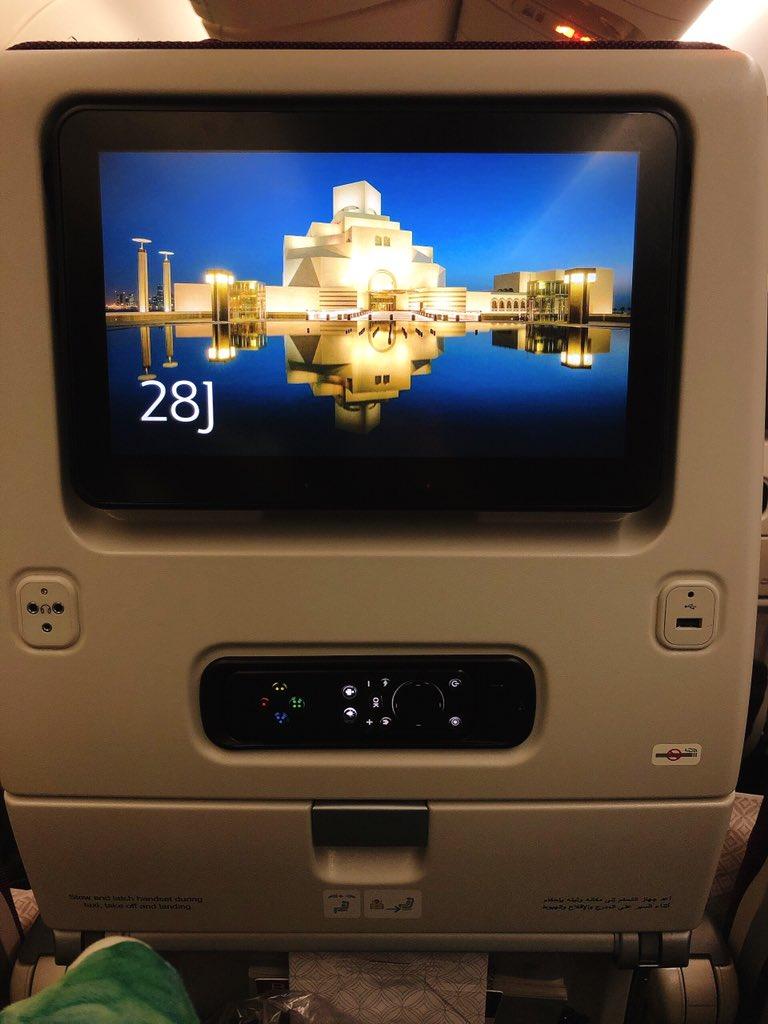 test ツイッターメディア - カタール航空使ってんけど 日本→ドーハ 機内食はふつーに美味かった コーヒーは乗り物酔いを加速させた 映画見るやつがなんか強かった(写真) リモコンがすごい…  ドーハ→セルビア 機内食は不味かった 映画見るやつの質がちょっと落ちた  どっちも 映画は充実してた気がする https://t.co/LSJOfRr0Gu