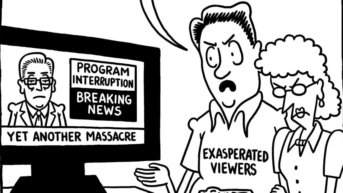 "This Week's Editorial Cartoon: ""(Public) Space Invaders"" https://trib.al/9X8BLH8"
