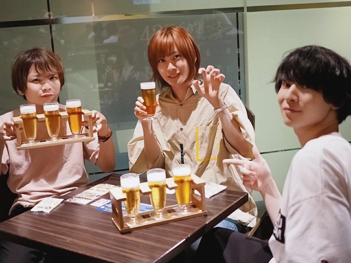 皆で、サッポロビール工場にも行ったよ。僕も1杯だけビール飲んだんだ。とても久しぶりにアルコールを摂取した🍺✨