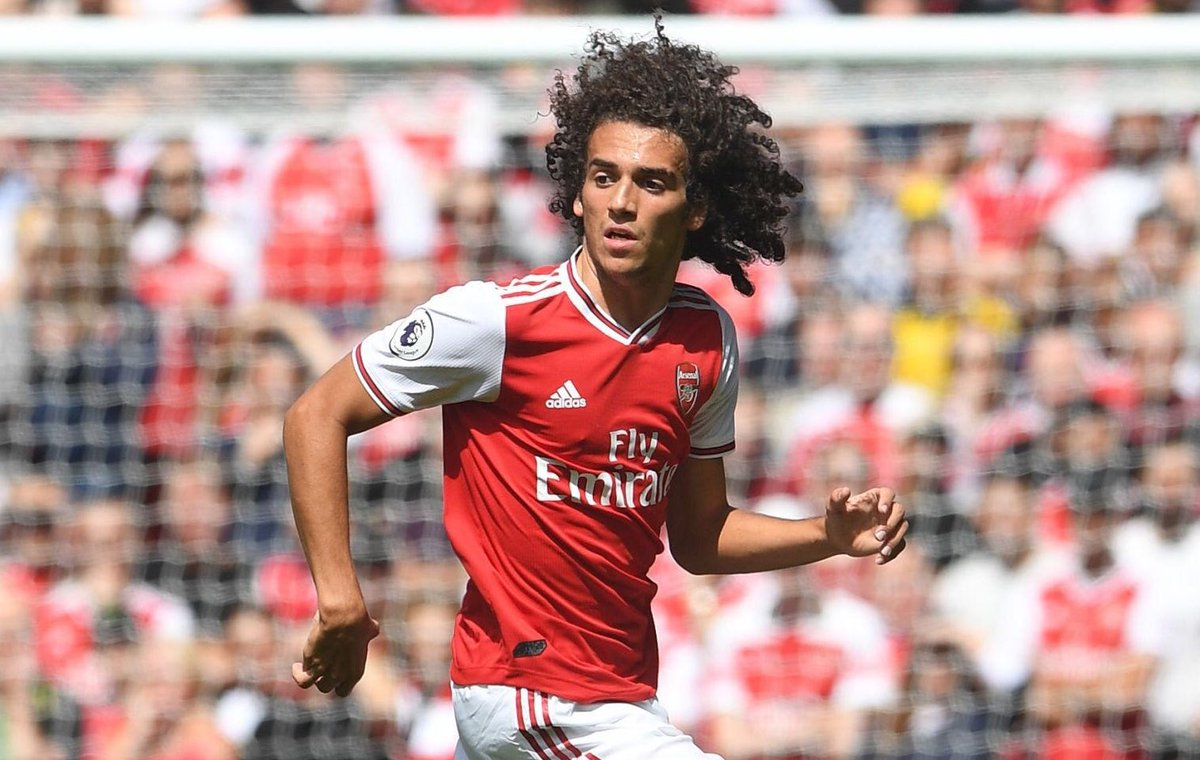 Congratulations to Arsenal midfielder Matteo Guendouzi on making his 50th appearance for the club in this afternoon's win against Burnley. #afc