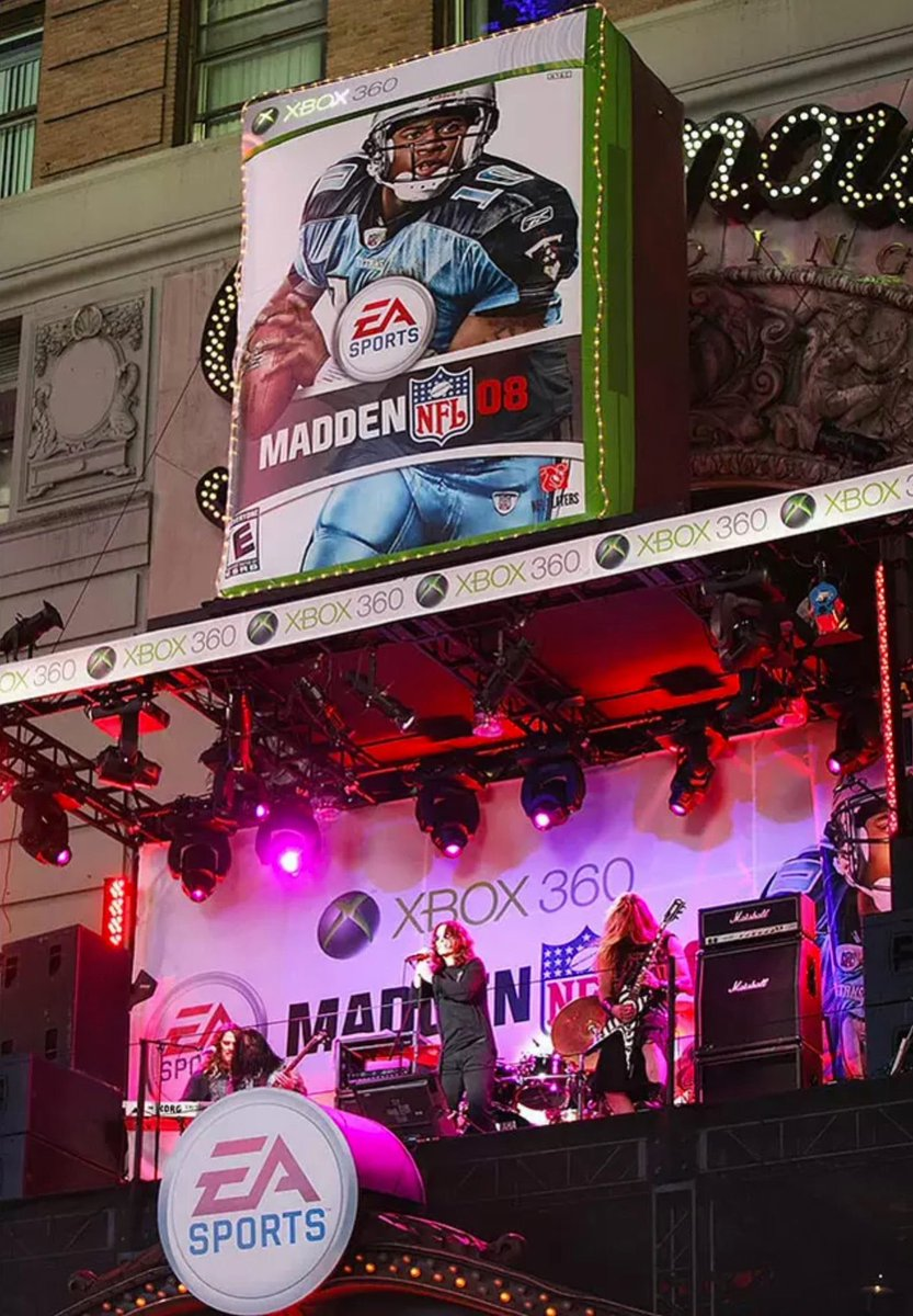 August 13, 2007 @EAMaddenNFL 2008 consumer launch party at the ESPN Zone NYC