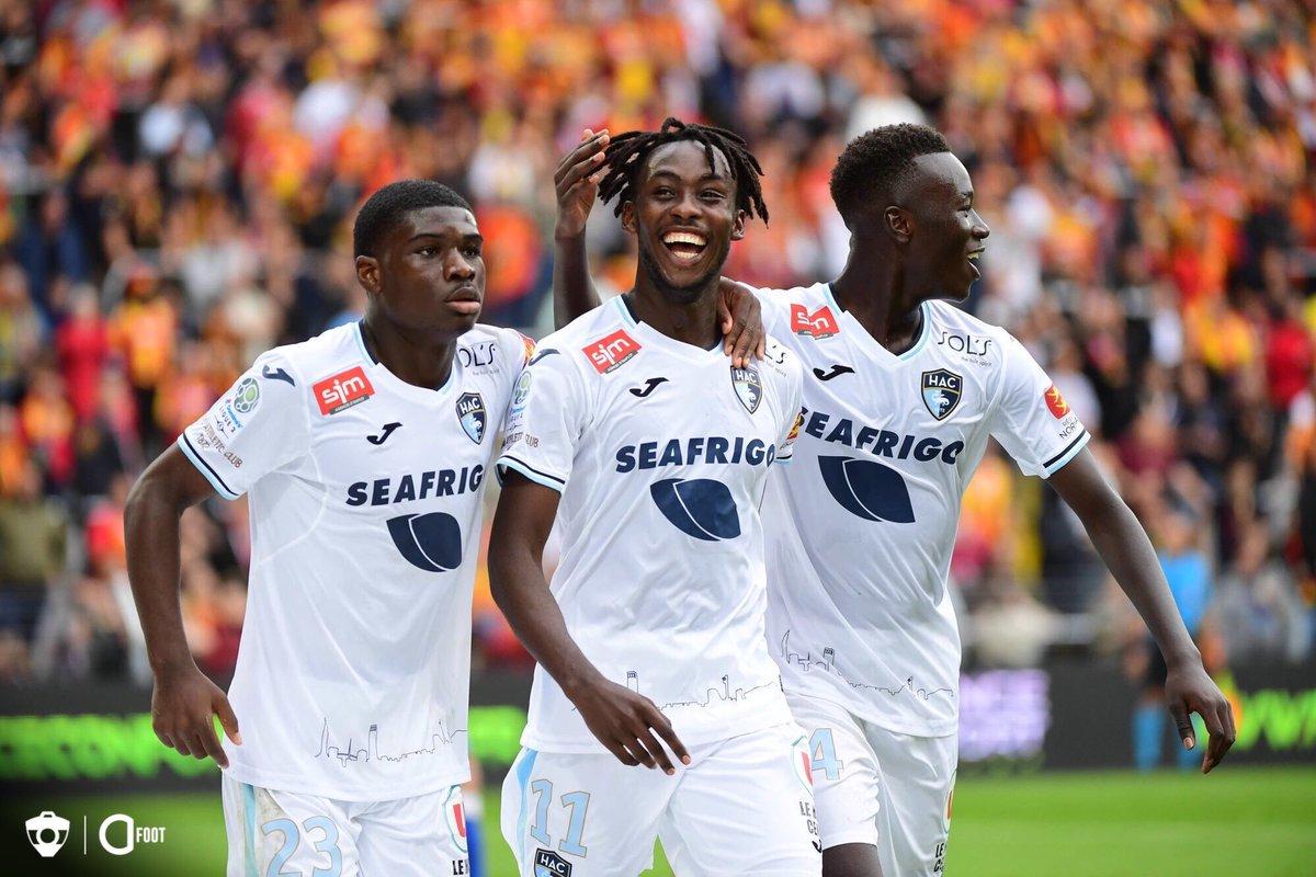 ⏱ TERMINÉ ! LENS 1-3 LE HAVRE Les Havrais s'imposent à Bollaert et monte sur la 3e place du championnat.
