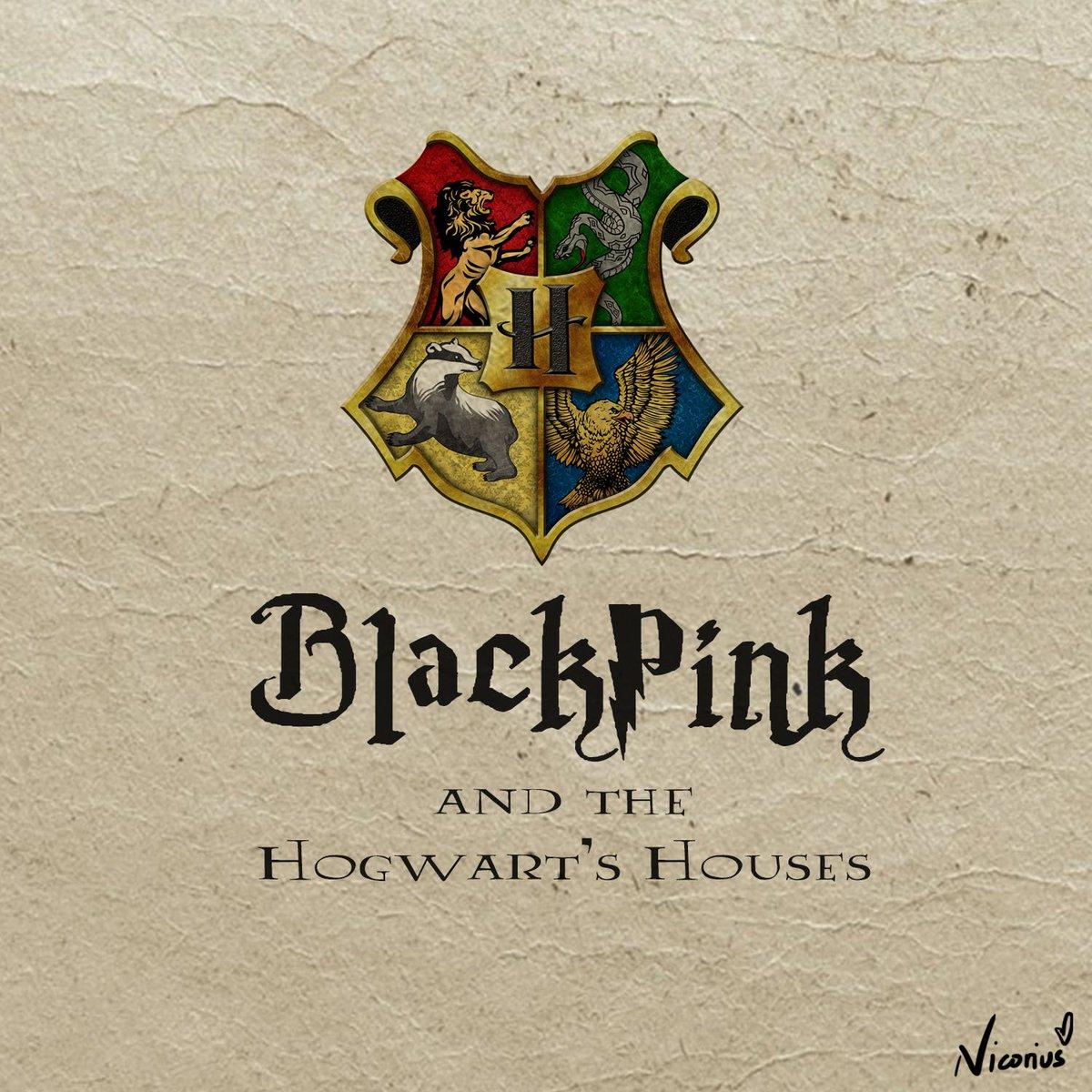 """If I'm the sorting hat"" 😊 @ygofficialblink  #BLACKPINK #blackpinkfanart #LISA #ROSÉ #JENNIE #JISOO"