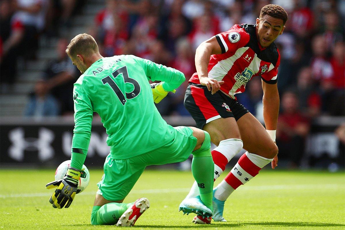 HALF TIME Southampton 0-1 Liverpool Aston Villa 0-2 Bournemouth Brighton 0-0 West Ham Everton 1-0 Watford Norwich 1-0 Newcastle trib.al/hJsEVTd #NORNEW