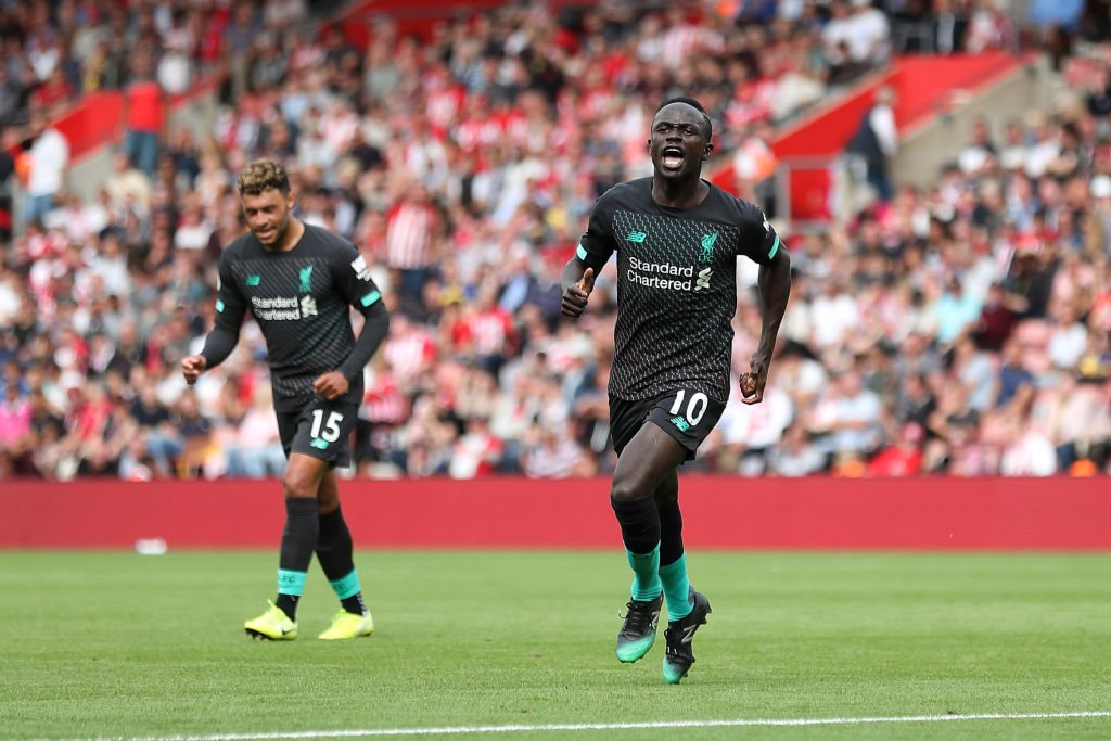 Sadio Manes one of only two Premier League players to have scored at least 20 goals across all competitions in the 2019 calendar year. The other is Sergio Aguero. Final Score 👉 @BBCRedButton Online 👉 bbc.in/2KF5f6E #bbcfootball