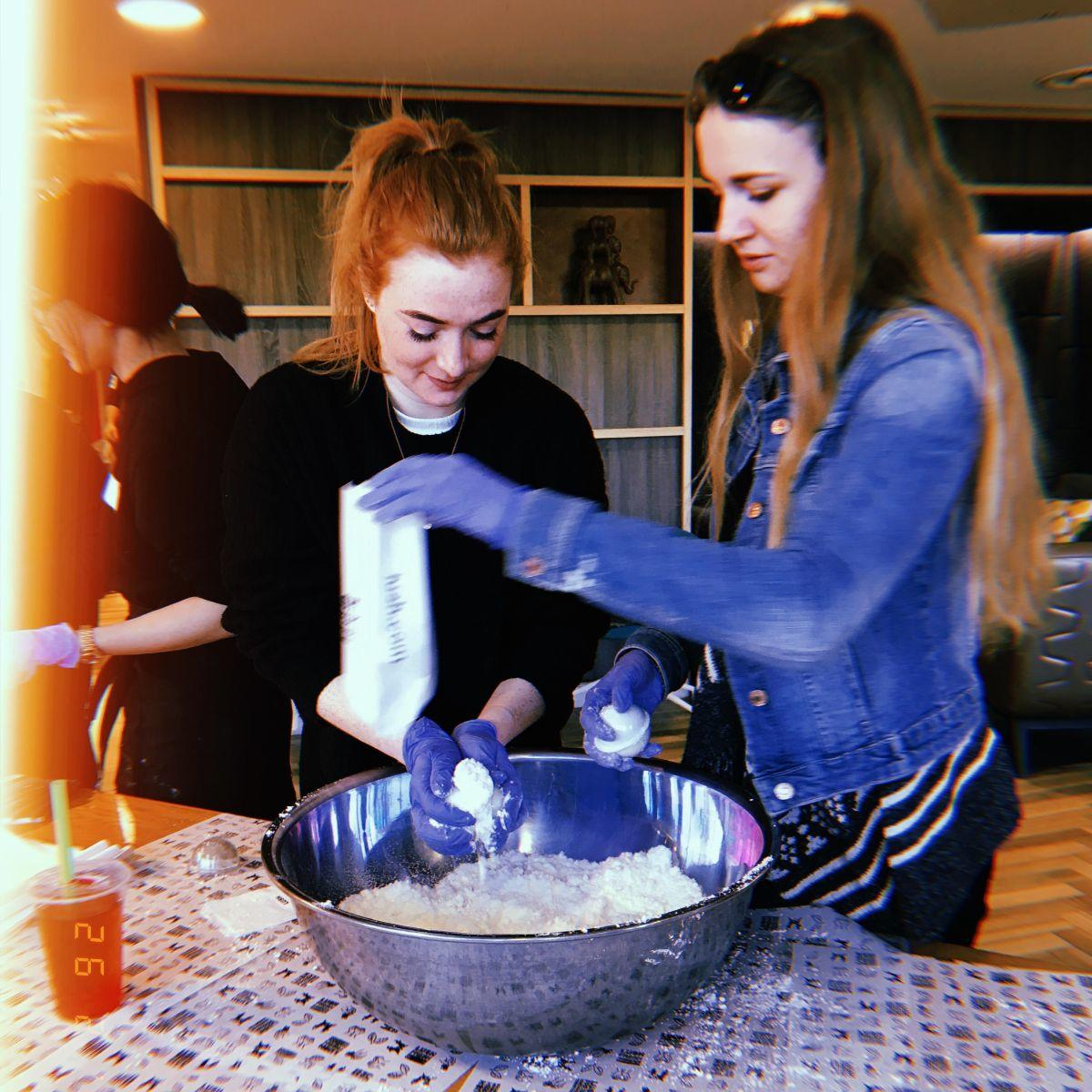 You guys made so many bath bombs we could open our own @LushLtdstore! More events like this coming soon! #event #VitaStudent #exclusive #student