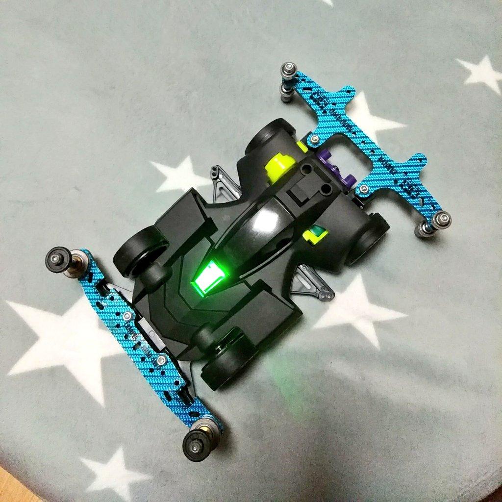 タミヤ ミニ四駆特別企画商品 ネオトライダガーZMC カーボンスペシャル スーパーIIシャーシ 95508に関する画像17