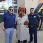 Image for the Tweet beginning: McGruff and the @DPDSENPO unit