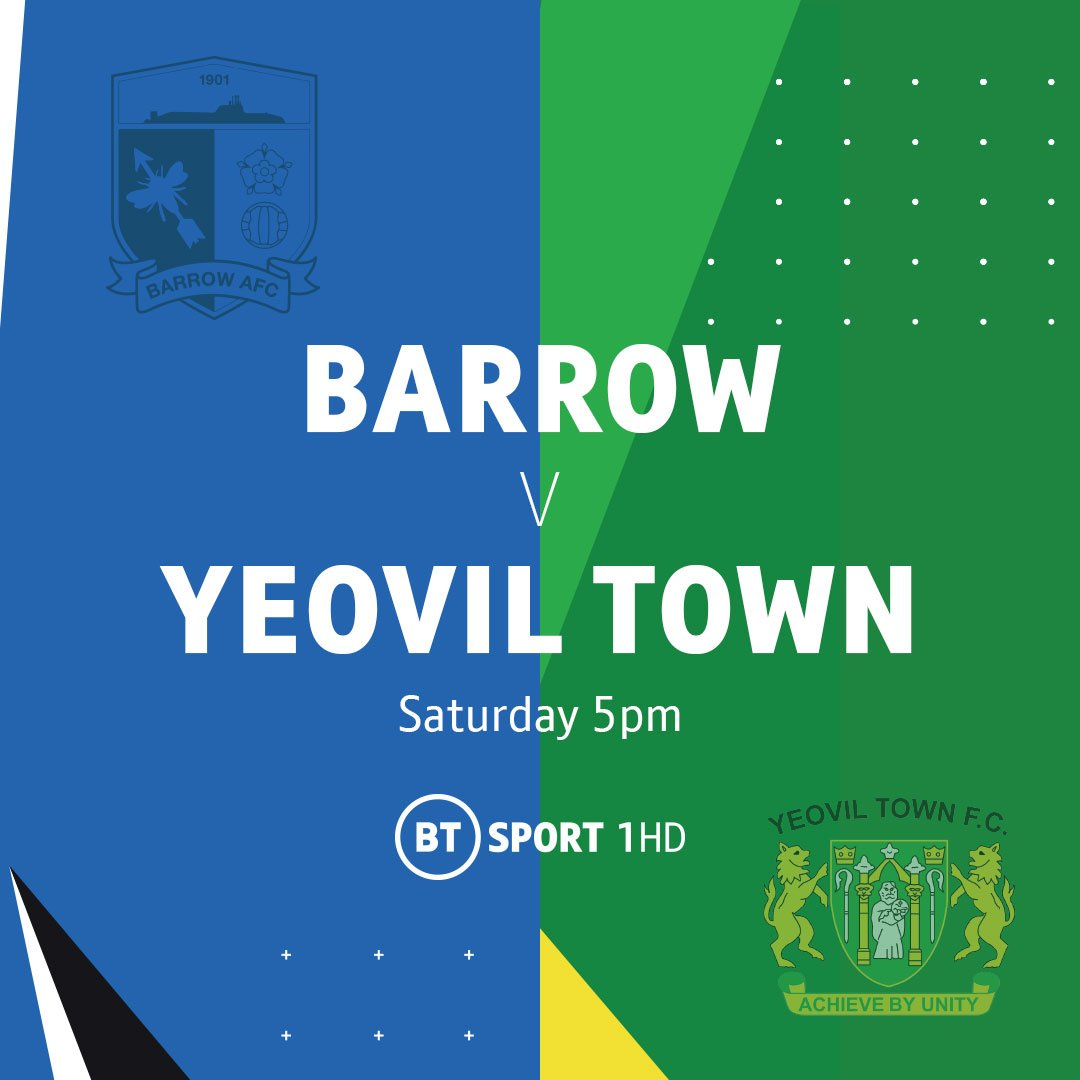 Live National League ✅ Early Highlights Show ✅ Were live from Barrow and then straight into the best of the days action from 5pm on BT Sport 1 HD...