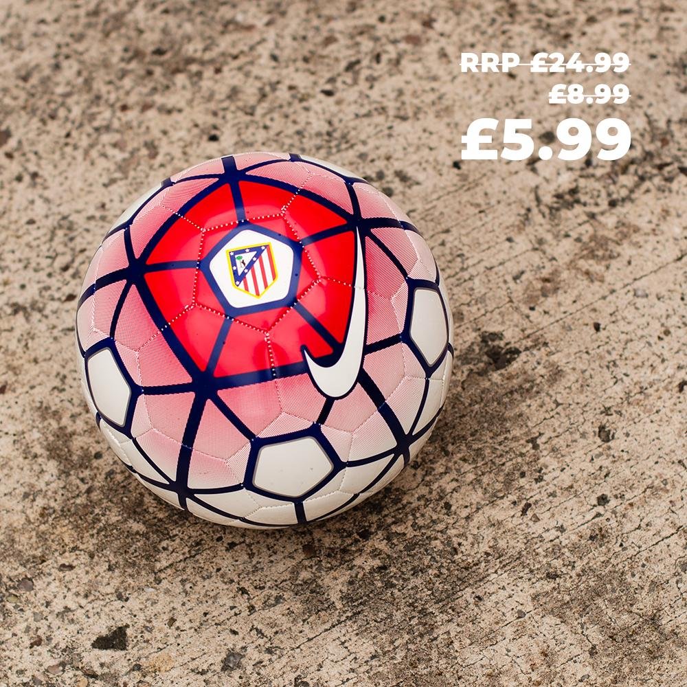 Weekly Deal: Atletico Madrid 15-16 Nike ball Only £5.99 here - ow.ly/cEDK50vztWR
