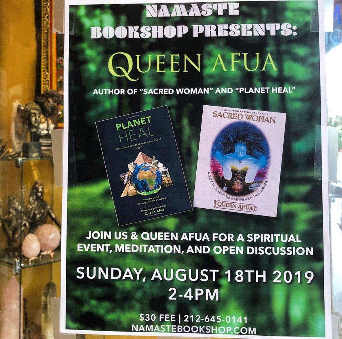 Queen Afua (@QueenAfuaHeals) | Twitter