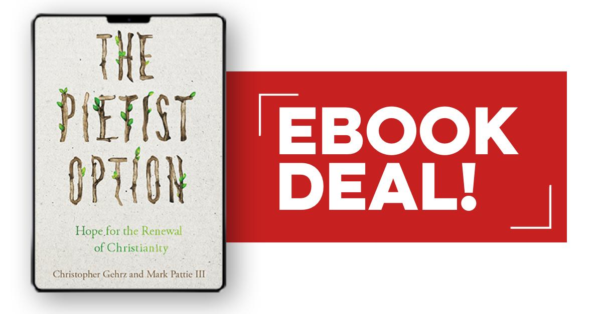 #Ebook Deal!📱The Pietist Option by @cgehrz and Mark Pattie III offers a revitalizing option for all who desire to be faithful and fruitful in Gods mission. Its available now through August 20 for only $5.99! Order now: ivpr.es/2Z9bm7e #ThePietistOption