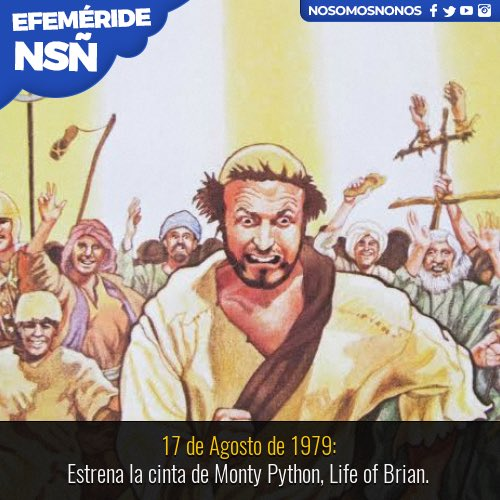 Always look on the bright side of life   40 años del estreno de #LifeofBrian<br>http://pic.twitter.com/6EIRY3anGl