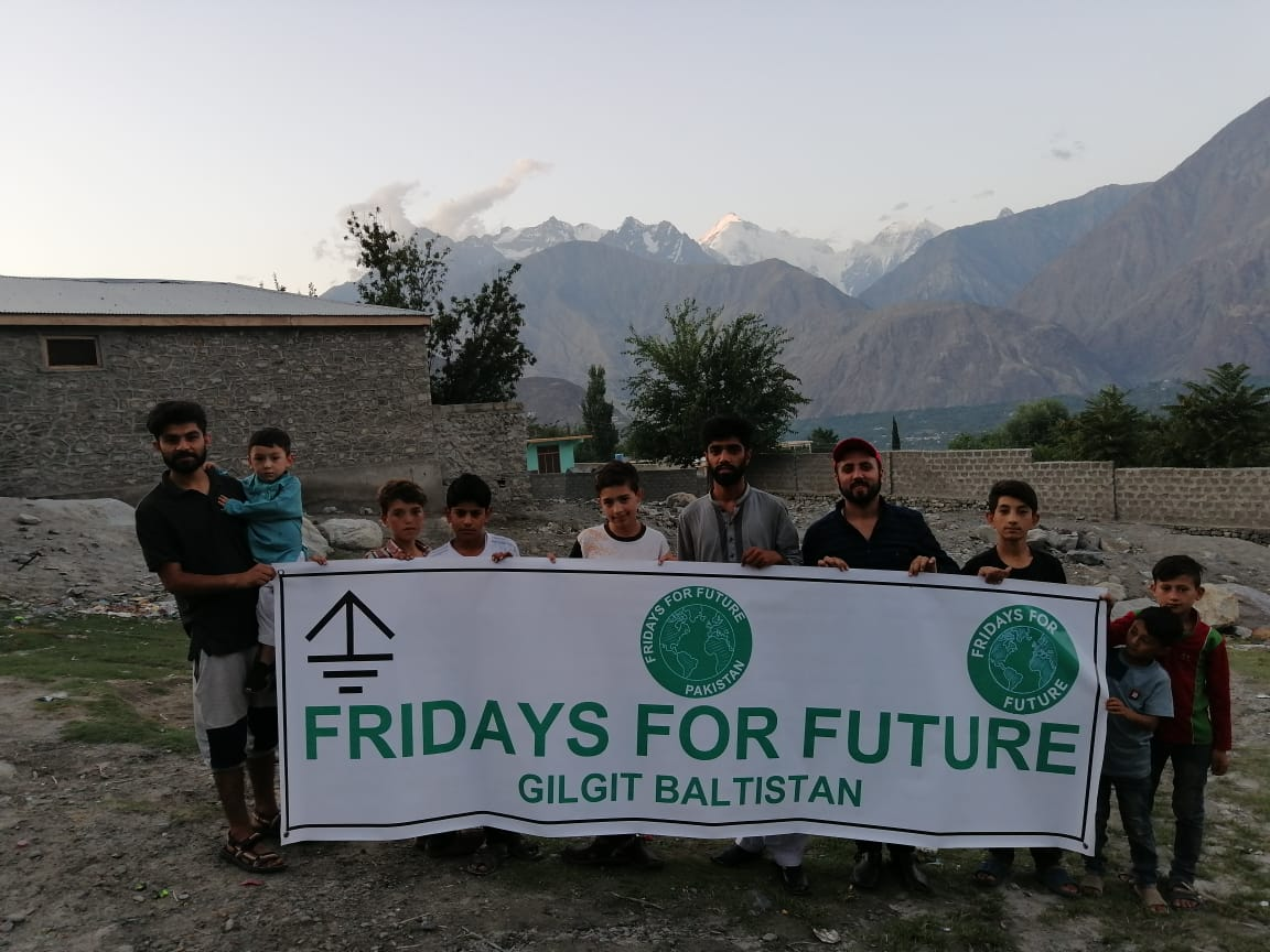 The thing we need most in Pakistan is climate awareness. #ClimateAction