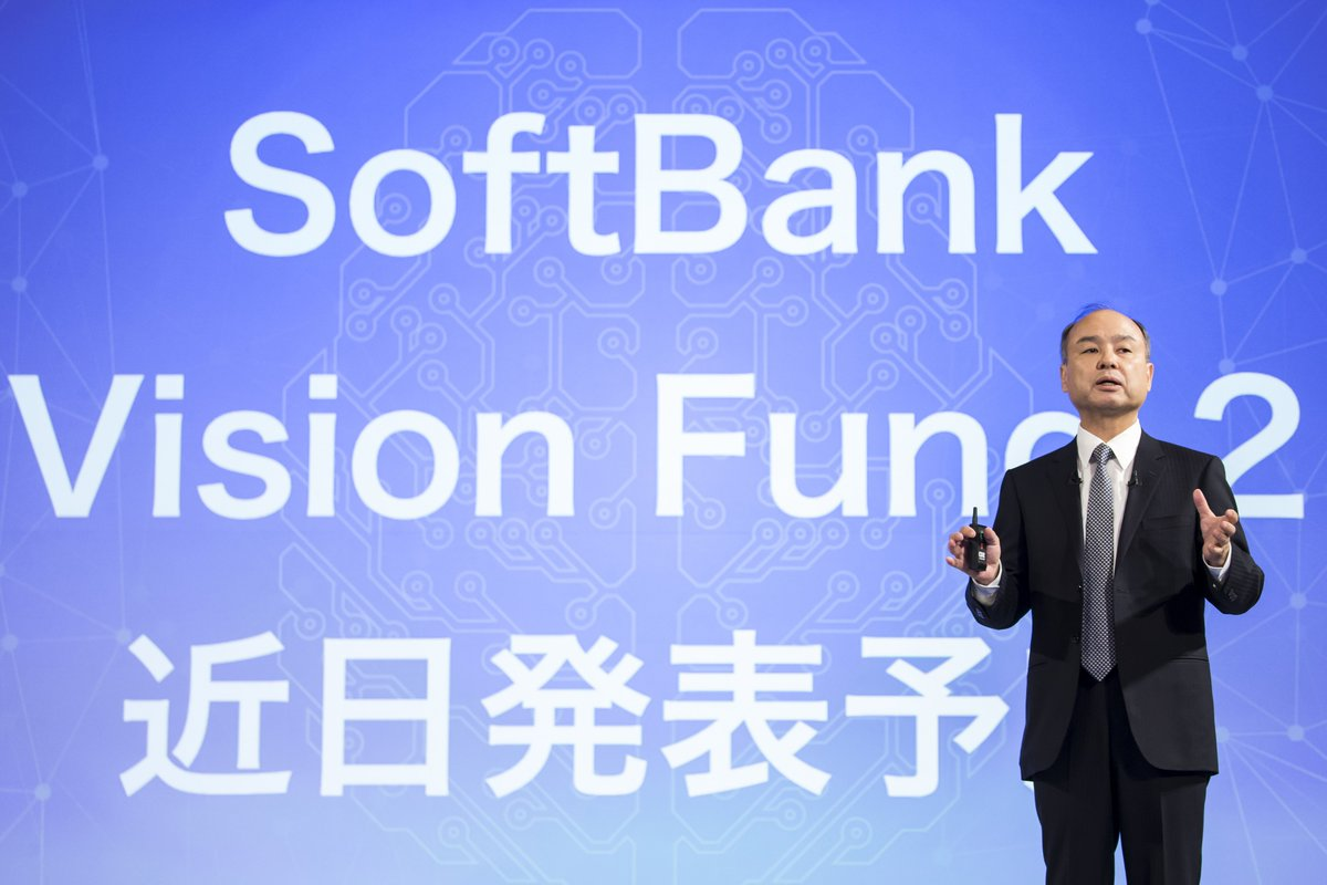 SoftBank reportedly plans to lend employees as much as $20 billion to invest in its VC fund https://tcrn.ch/2HbTYZA by @etherington