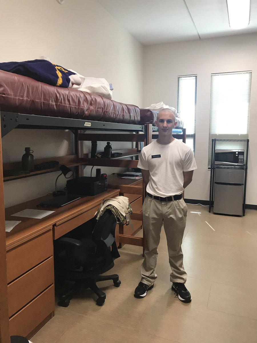 Our cadet is all moved in! #VT23