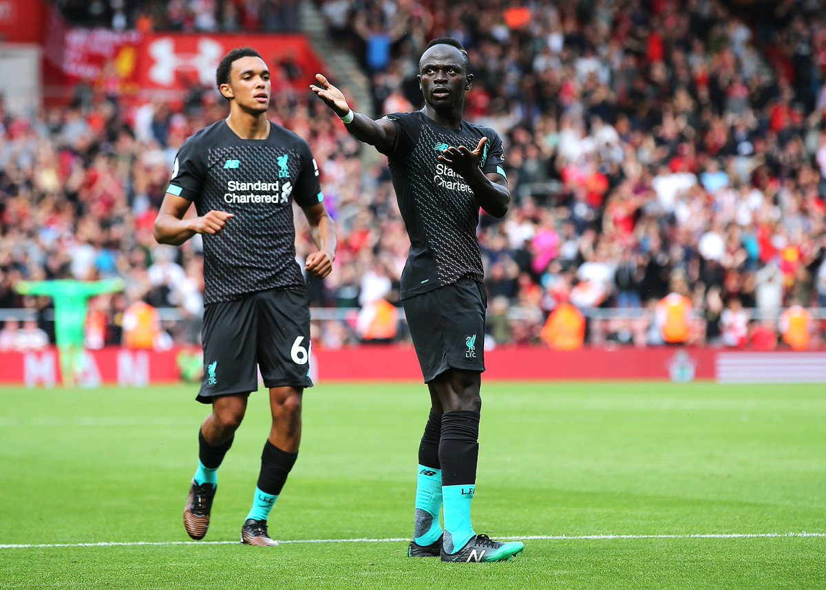 Sadio Mané has now provided as many Premier League assists in 2019-20 (1) as he did during the entire 2018-19 season. Mohamed Salah last season, Roberto Firmino this time around.