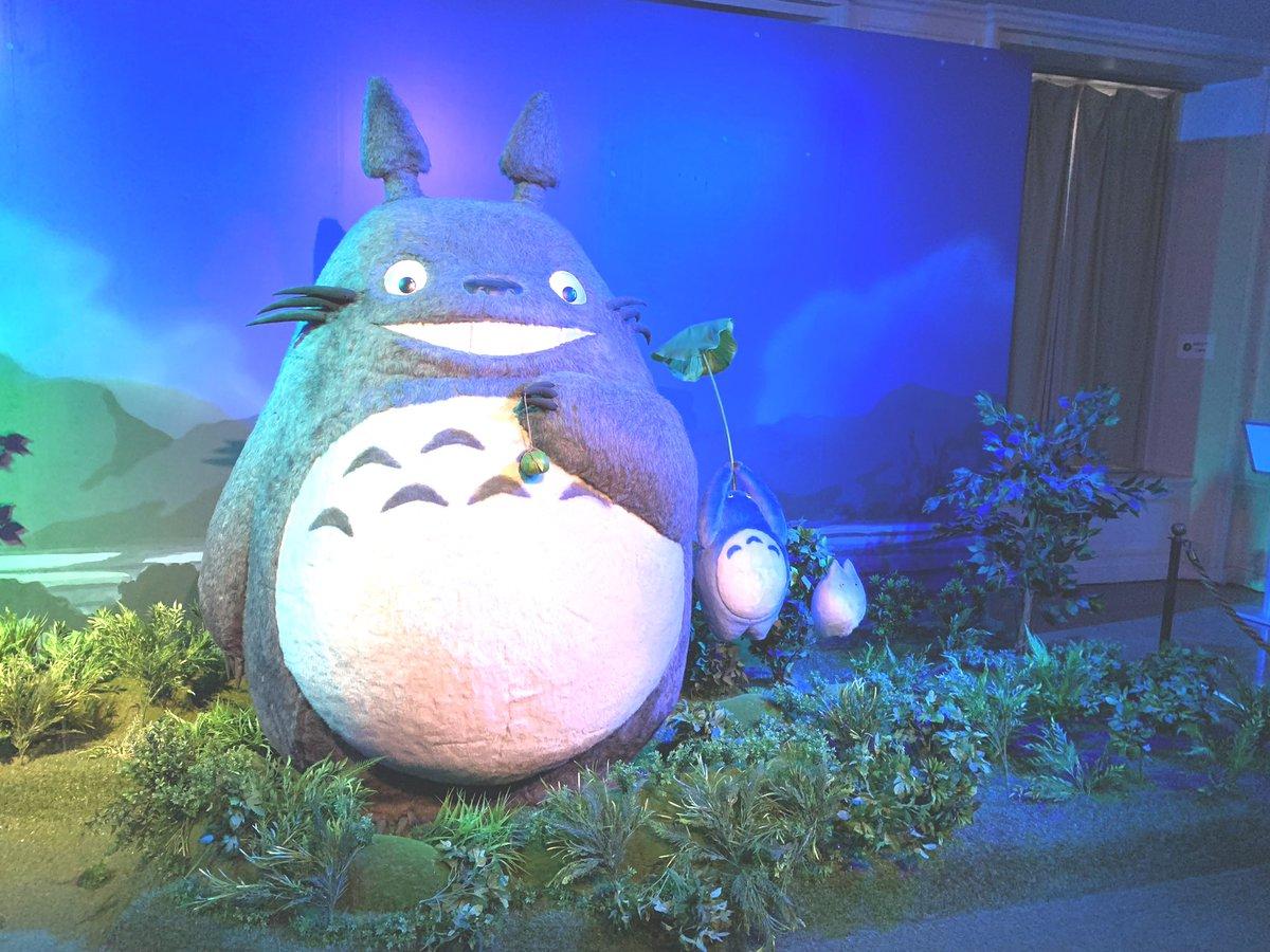 やっと鈴木敏夫とジブリ展🥺🌱 花菜ちゃんも行ってた鈴木敏夫とジブリ展🥺🌱 花菜ちゃん、ジブリについて語り合おう……  #鈴木敏夫とジブリ展 #大場花菜