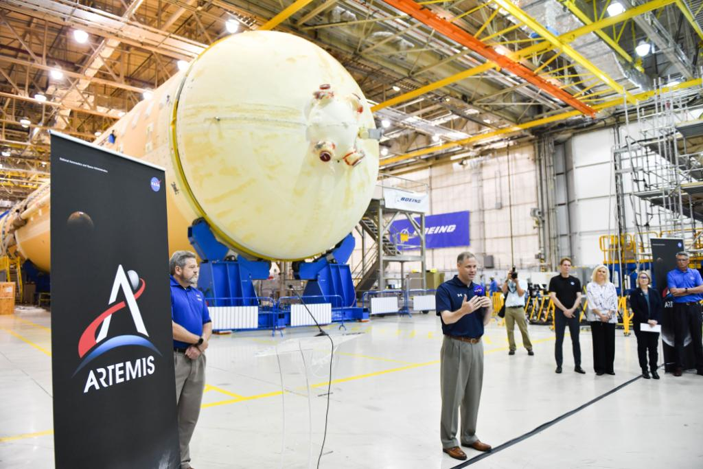 This is an incredible time in human spaceflight, and we are proud to once again be leading the way. - @JimBridenstine Catch up with the Administrators visit to #NASAMarshall and #NASAMichoud in his latest blog >> go.nasa.gov/2KD0oD1