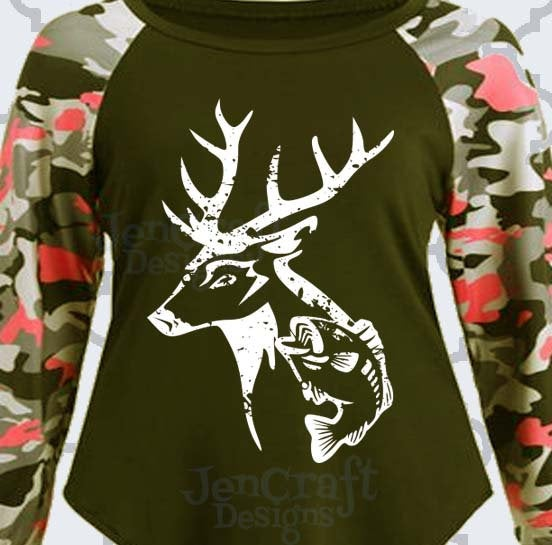 Download Jencraft Designs On Twitter Distressed Deer And Fish Grunge Hunting Fishing Svg Deer Svg Fish Svg Eps Dxf And Png Format Fishing Svg For Cricut And Silhouette Doedeerbuck Country 3 99 Https T Co Ovqgrbknkb