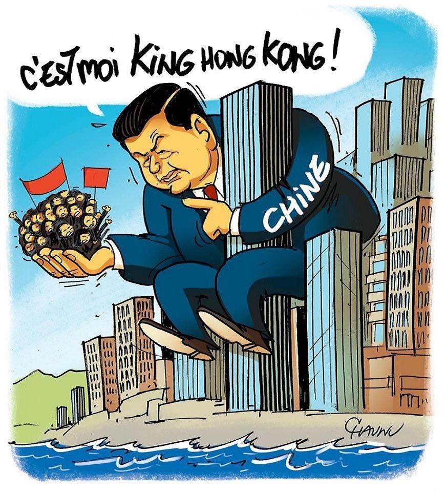 La Chine aux portes de Hong Kong ! 😳