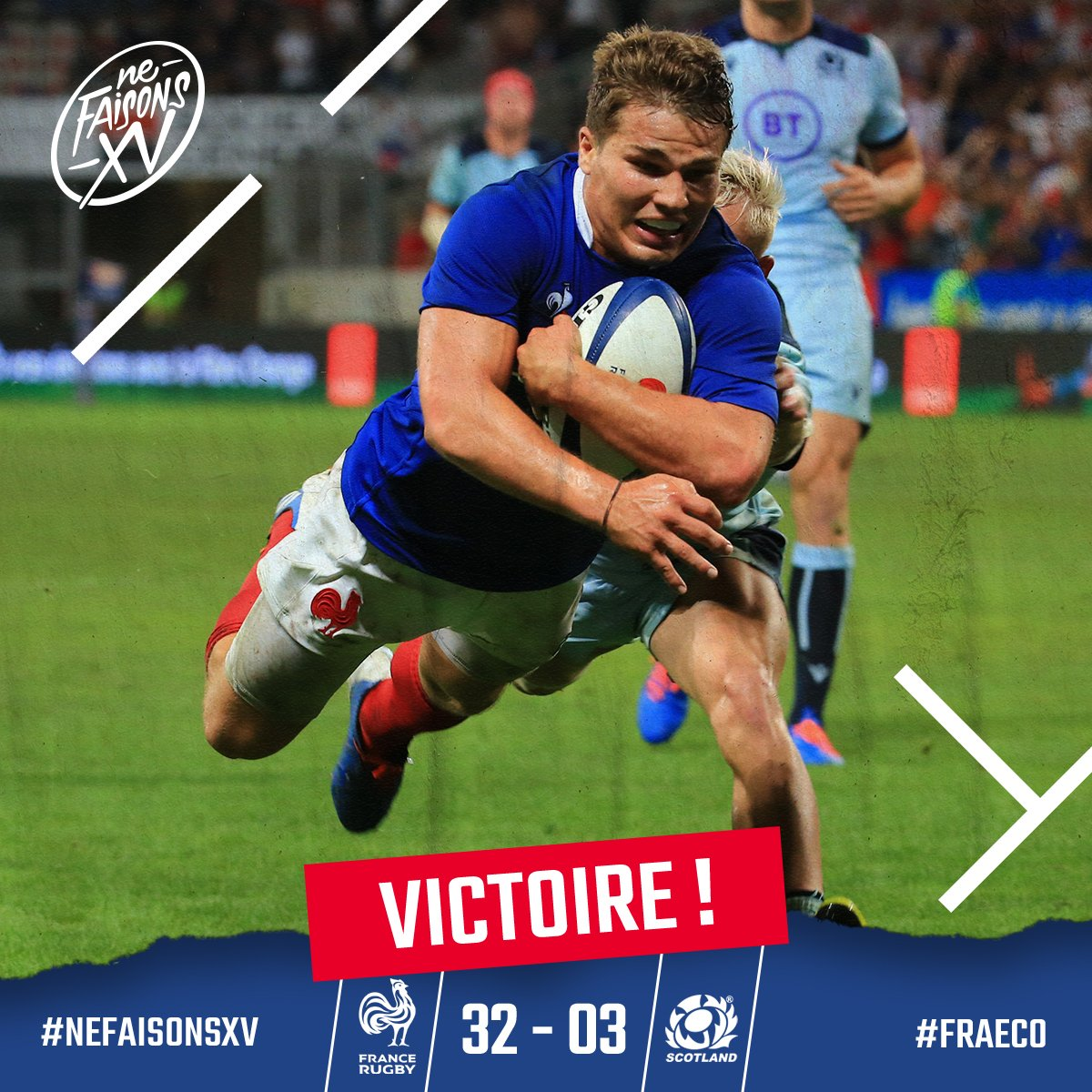 @FranceRugby's photo on #XVdeFrance