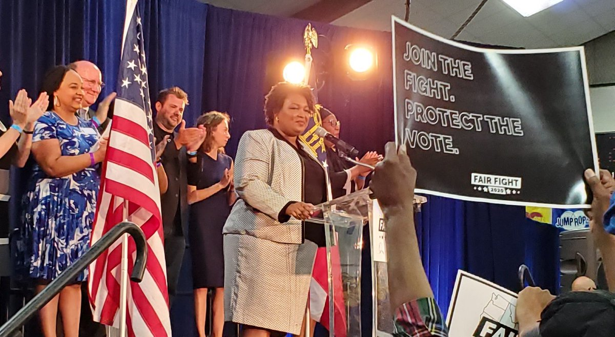 So excited about the launch of #FairFight2020 in Georgia and around the country! @fairfightaction @staceyabrams @gwlauren <br>http://pic.twitter.com/G31pCItvS7