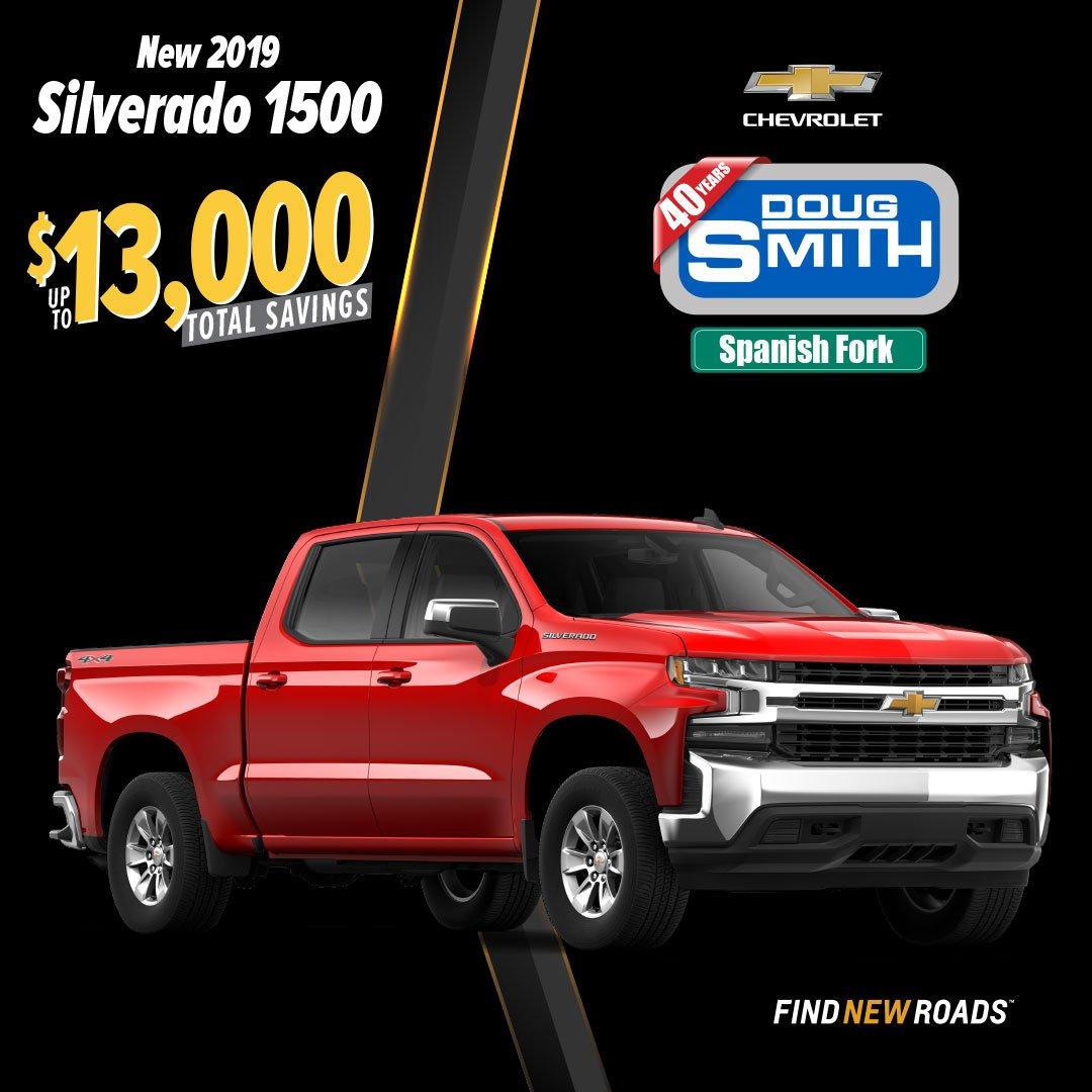 Doug Smith Spanish Fork >> Doug Smith Chevrolet Dougsmithchevy Twitter