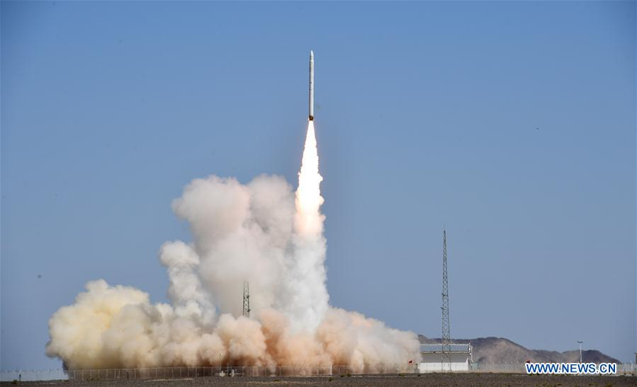 "A solid-fuel small satellite launcher named Jielong 1 fired into orbit Saturday on its first flight from northwest China, debuting a new rocket developed by a spinoff of China's state-owned launch vehicle manufacturer using a ""commercial business model."" spaceflightnow.com/2019/08/17/chi…"