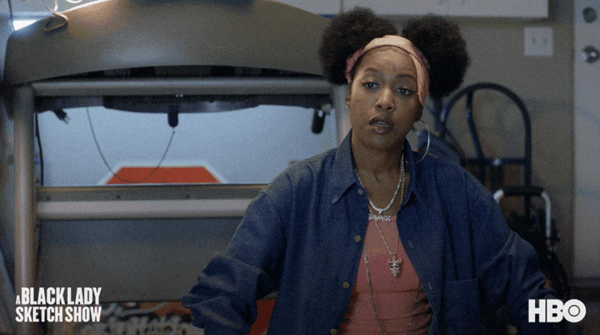 Can we take a minute to acknowledge THE RANGE on @GabrielleDennis?! #ABLSS #ABlackLadySketchShow