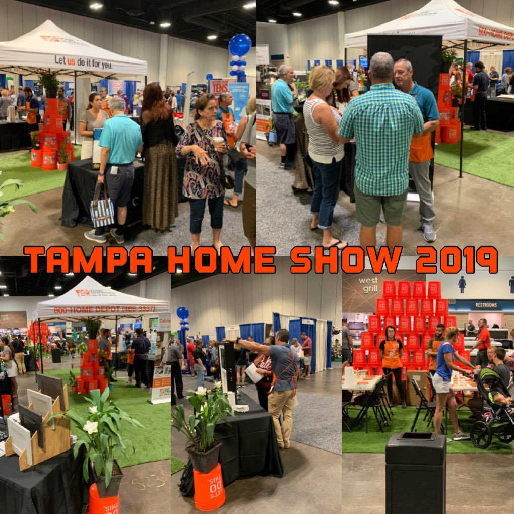 Come join us at the Tampa Convention Center and participate in our Free Kids Workshops and Learn from our Expert consultants on Cabinet Makeover, Closet Organization, Countertops, Windows and more...@StaceyTank @CharlesA_Wilson @THDRyanSilcott @scottwhiteHD<br>http://pic.twitter.com/sFH8JxMv1r – à Tampa Convention Center