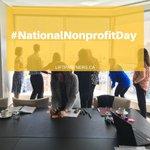 Imagen para el comienzo del Tweet: #NationalNonprofitDay nos sentimos honrados de ser