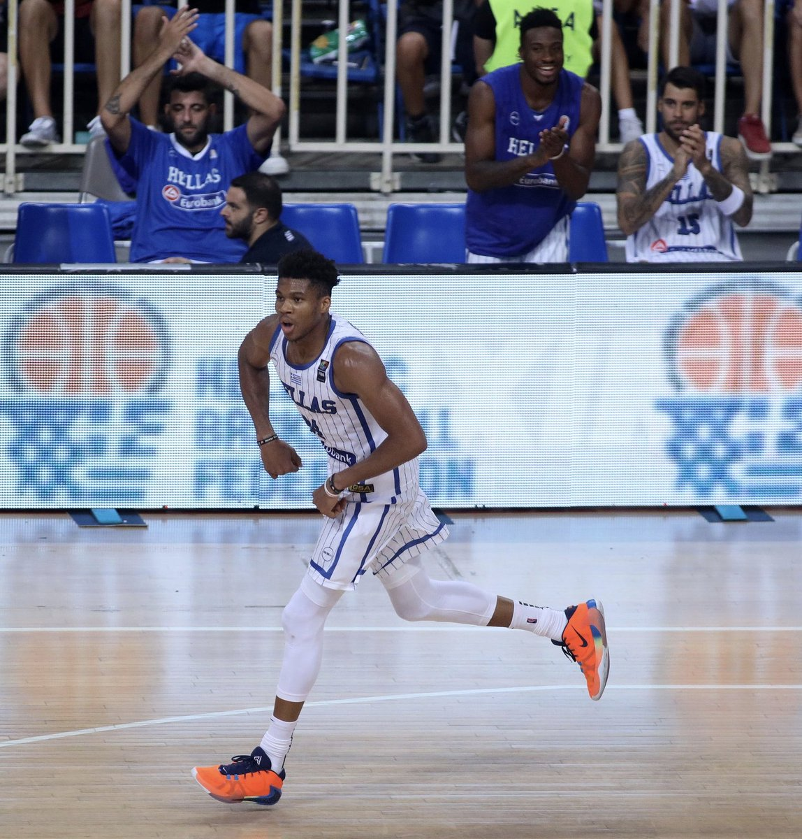 Tune in NOW to watch Giannis, Thanasis & Ers in Greece vs. Turkey!!   📺 http://YouTube.com/FIBA