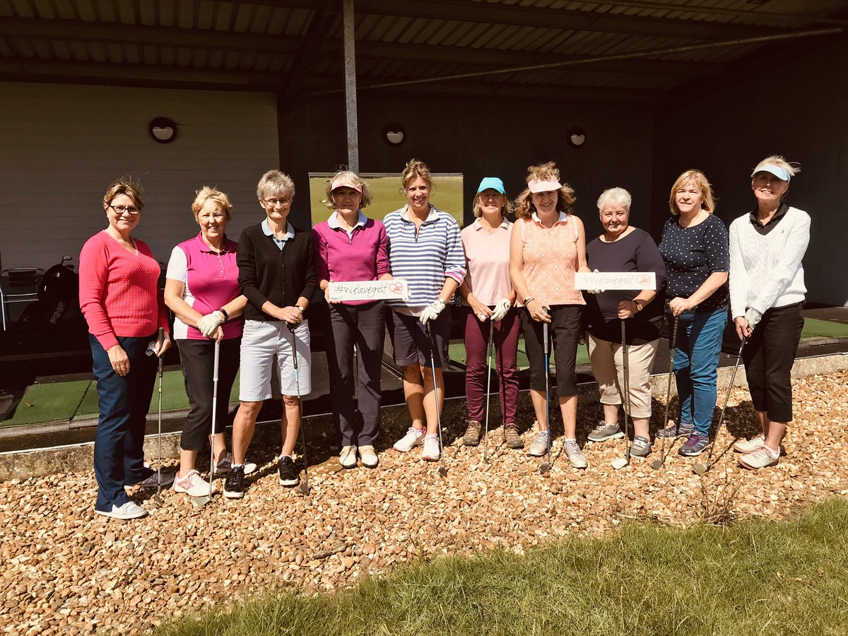 Another #welovegolf session started @bedfordshiregc with me today. A great way to learn meet new people & have #fun!! If you fancy joining in with the girls let me know! @WeLoveGolfPGA @ThePGA @MizunoGolfEU