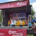 Image for the Tweet beginning: @ConsulMexDen presente en el #GlobalFest