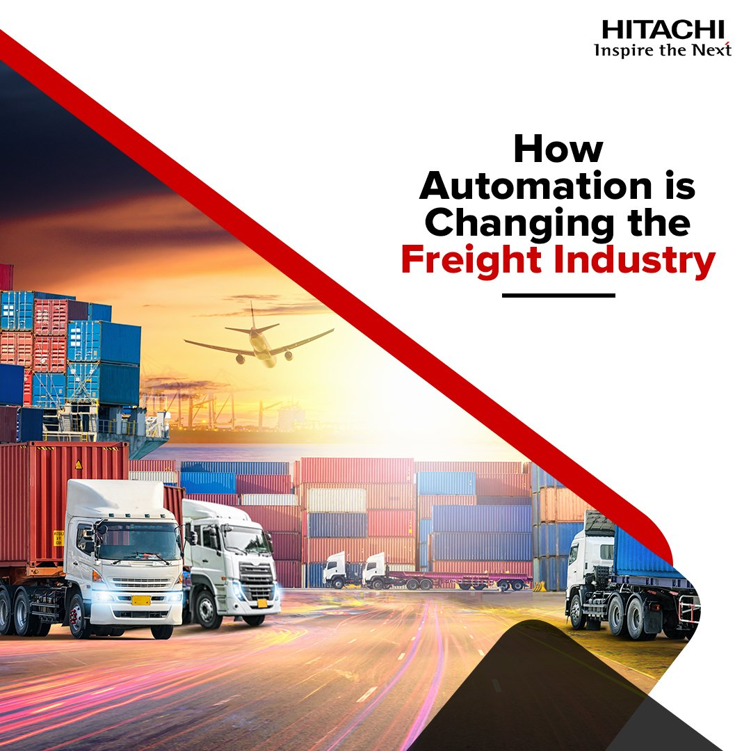 #Automation in the freight industry: discover two key factors in addressing the capacity crunch. bit.ly/2Mt5vYX #PredictiveMaintenance #DigitalTransformation