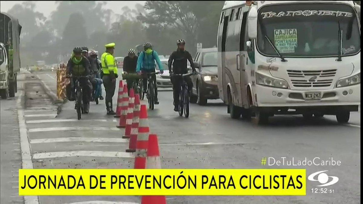 Jornada de prevención para ciclistas en el norte de Bogotá - http://bit.ly/2uQzKwL