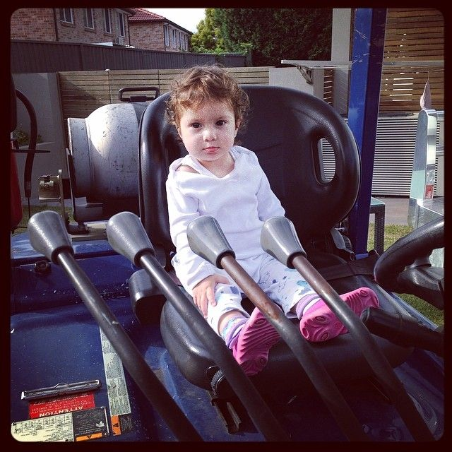 Photo: Ready to rock all four functions! - bit.ly/1l9CQ1B forklift #kids